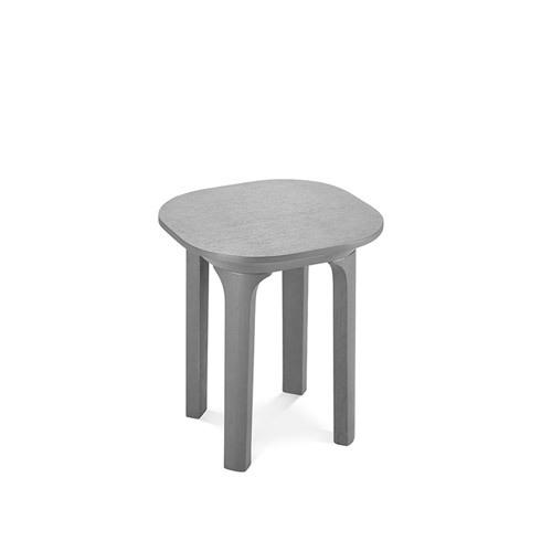 瓦檐边桌®方形边桌柜架效果图