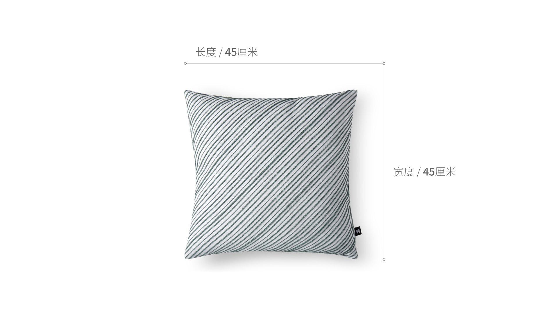 禾线纯棉抱枕抱枕家纺效果图