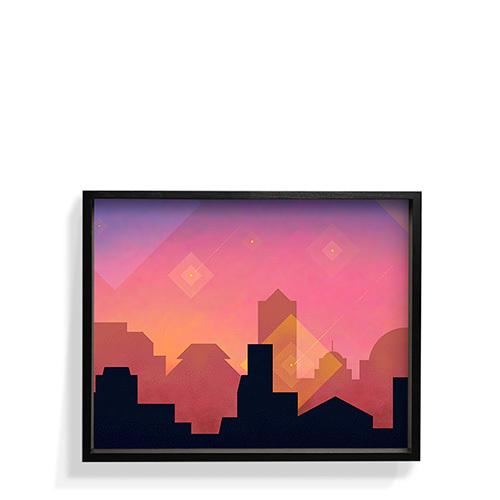 作画-城市系列