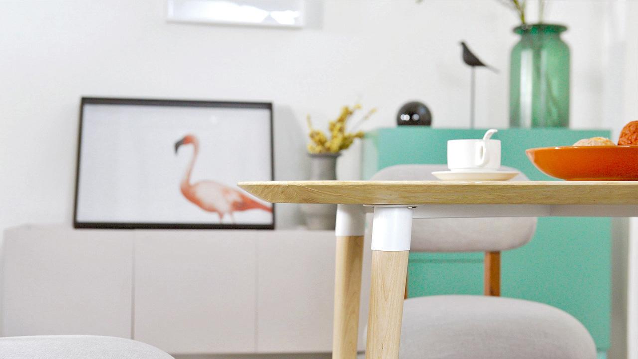 画板餐桌-方桌