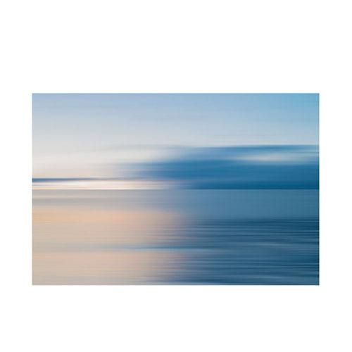 旅行家限量画芯 | Øystein Sture Aspelund作品2号-不明界2(装裱后)装饰效果图