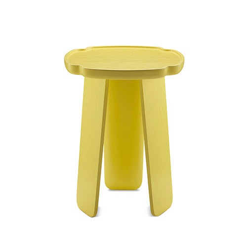 造作花间实木小桌®高桌(四叶款)桌几效果图