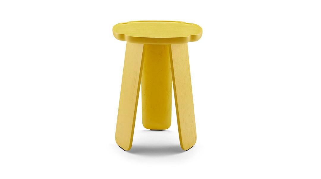 造作花間實木小桌?高桌(四葉款)桌幾