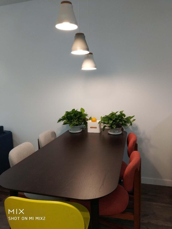 深白色对画板餐桌®-长桌 1.6米发布的晒单效果图及评价