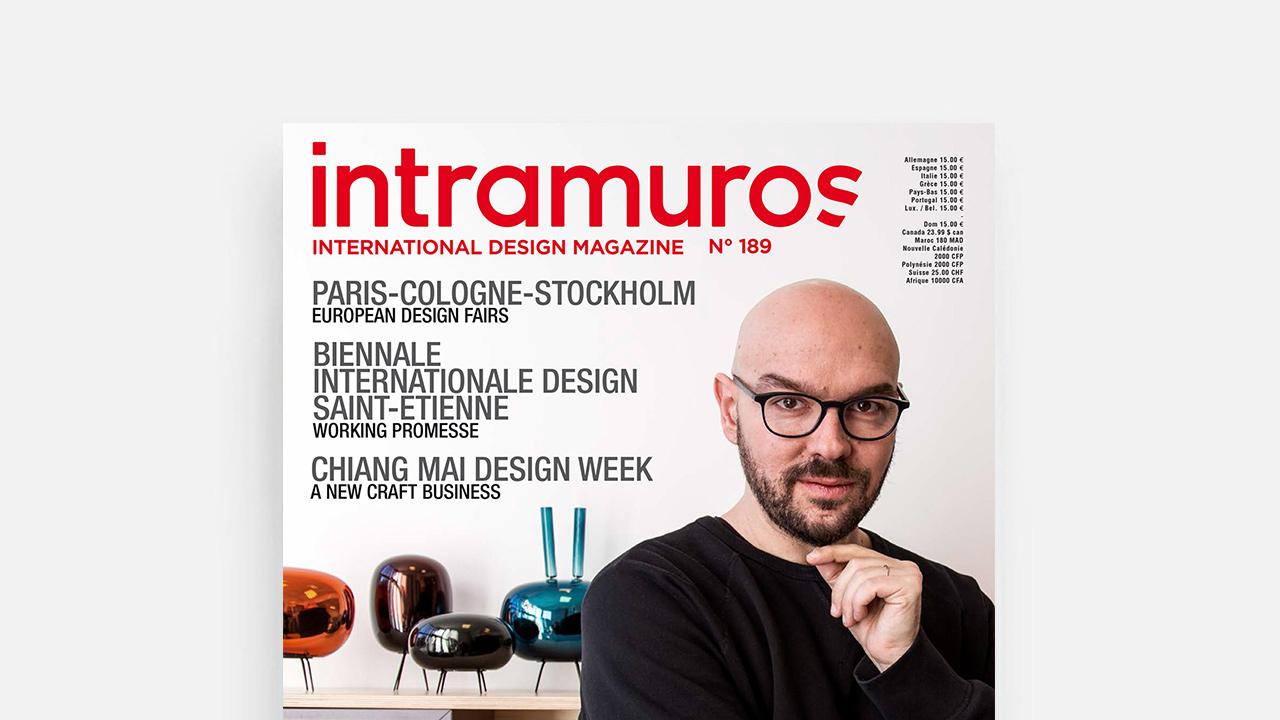 INTRAMUROS 4月刊|Luca Nichetto专访