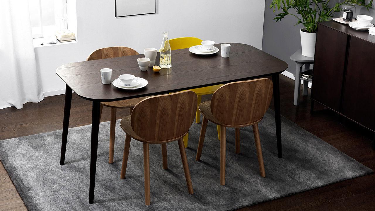 1.6米精致木作,6人家庭优雅大餐桌
