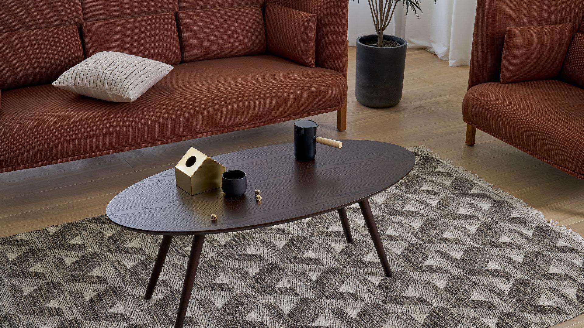 画板咖啡几-椭圆形 | Z-background Coffee Table