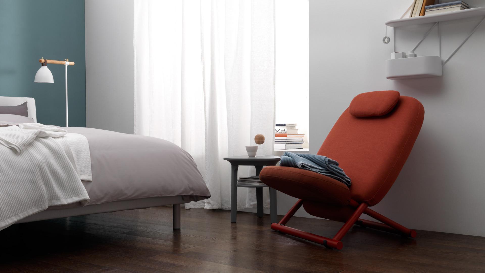 卧室一角的悠闲补充