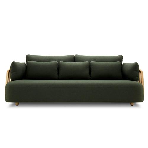 竖琴沙发®大三人座全幅版沙发效果图
