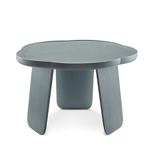 造作花间实木小桌®矮桌(五叶款)桌几效果图