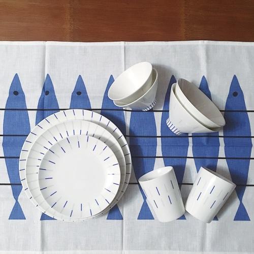 造作镜线西班牙瓷土餐具组精选评价_Kymon