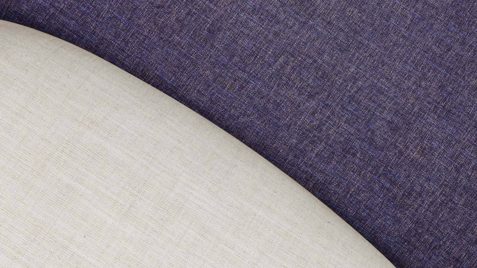 NCS香草紫/米杏,涤纶混纺,经久耐用