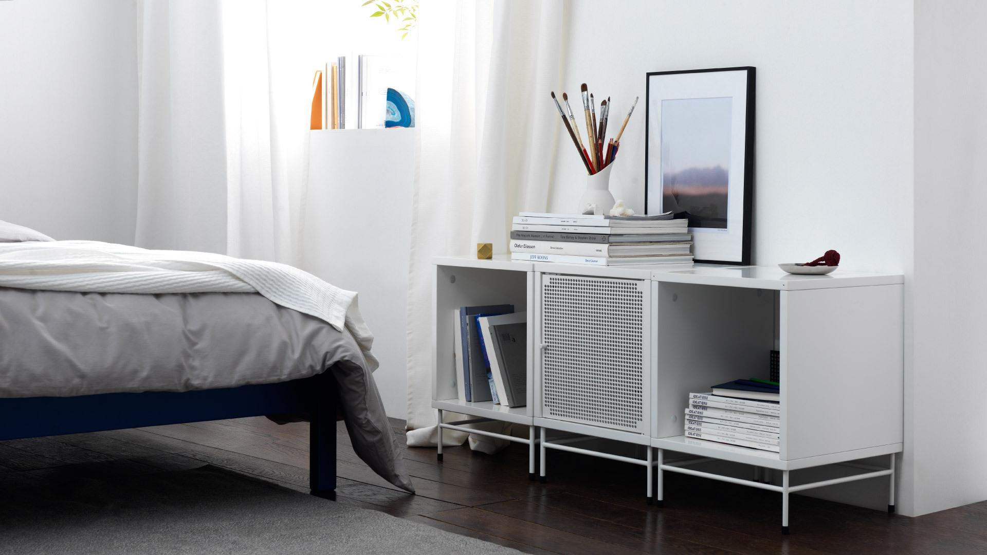 卧室组合矮柜,减轻压力的安全感收纳