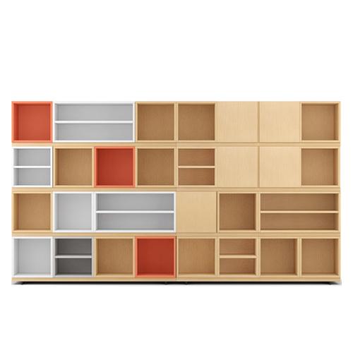 COSMO星格™书柜3.2米宽书柜柜架效果图