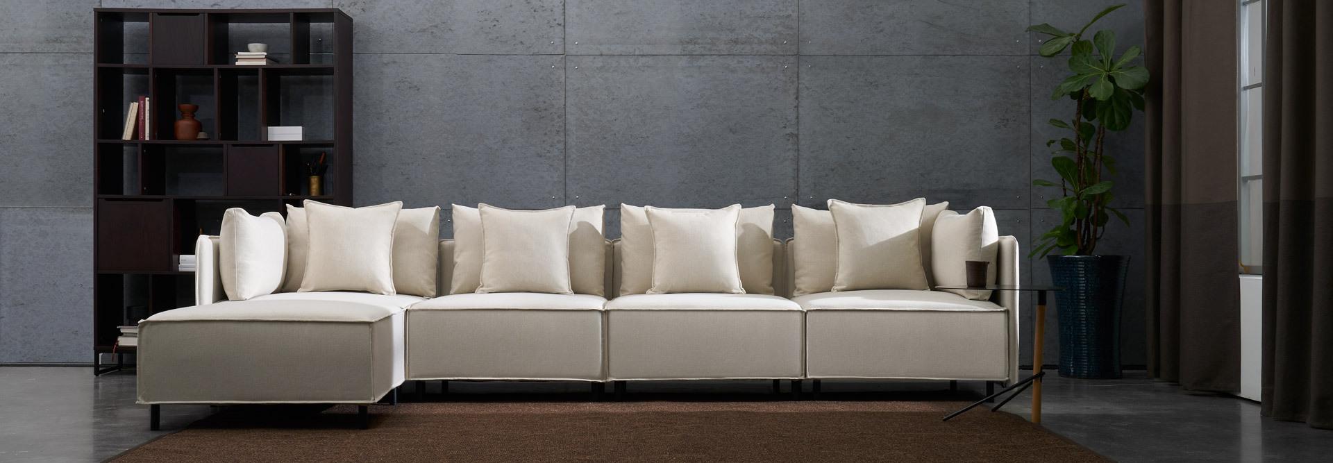 超宽大,极舒适,可拆洗的全尺寸沙发
