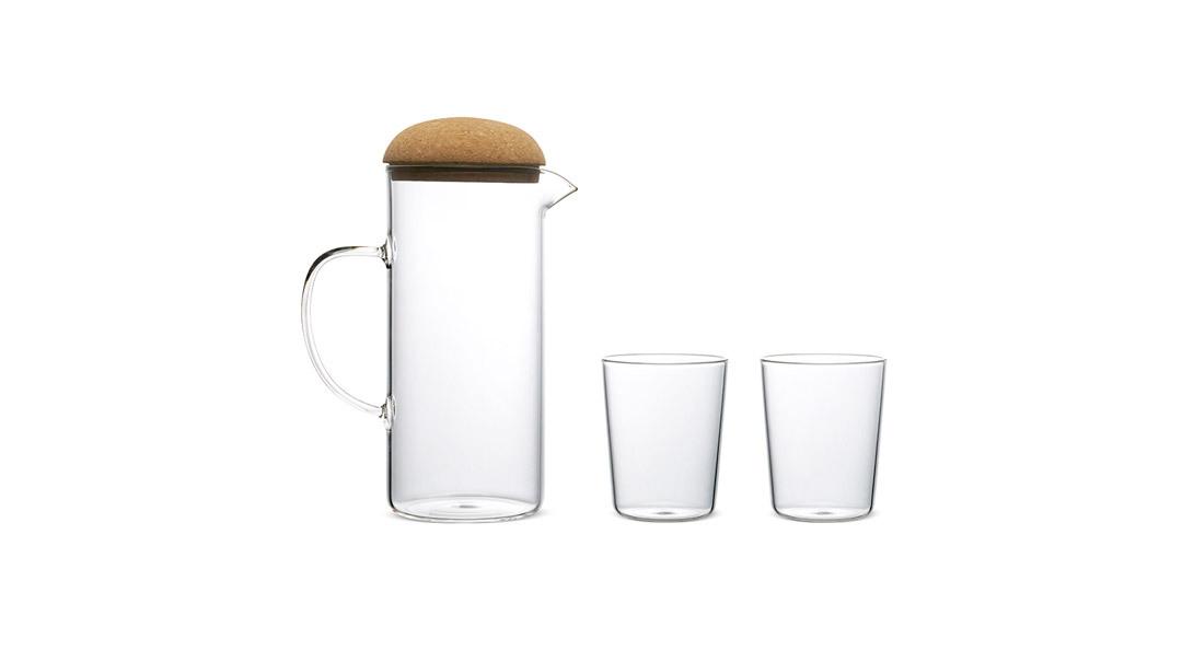 蘑菇高硼硅水壶套装®水杯2只装(不含水壶)餐具