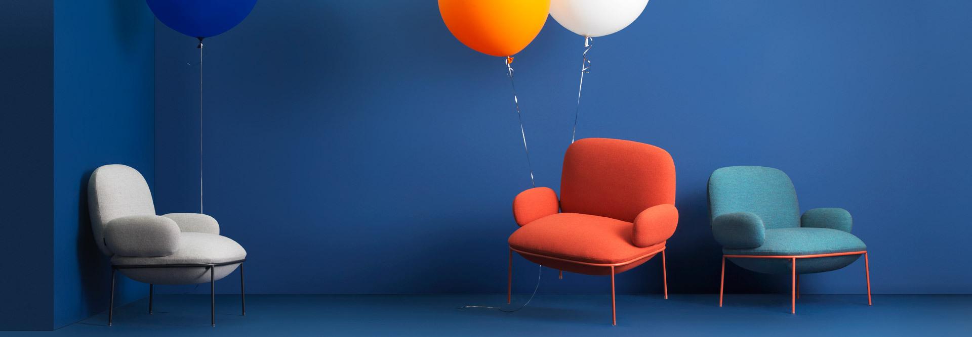 3色饱满气球,系住心中少年