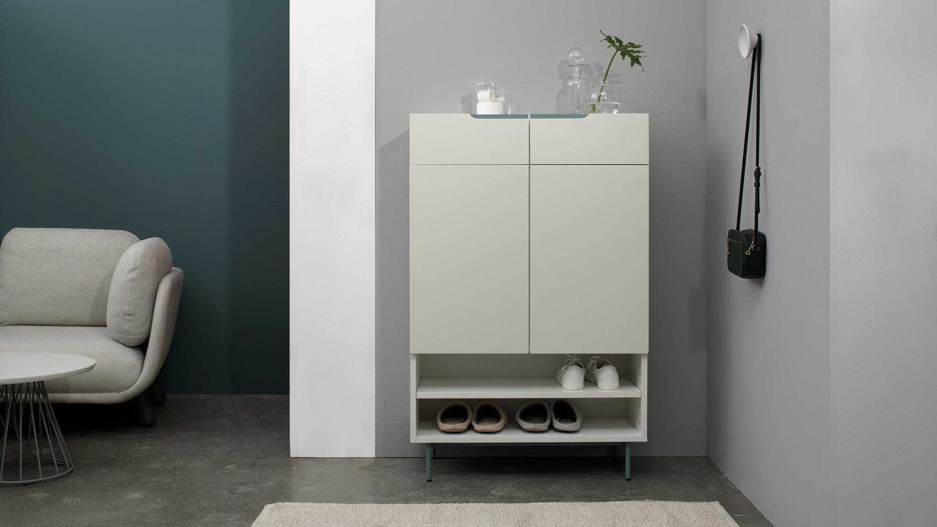 贡多拉鞋柜|Gondola Shoe Cabinet