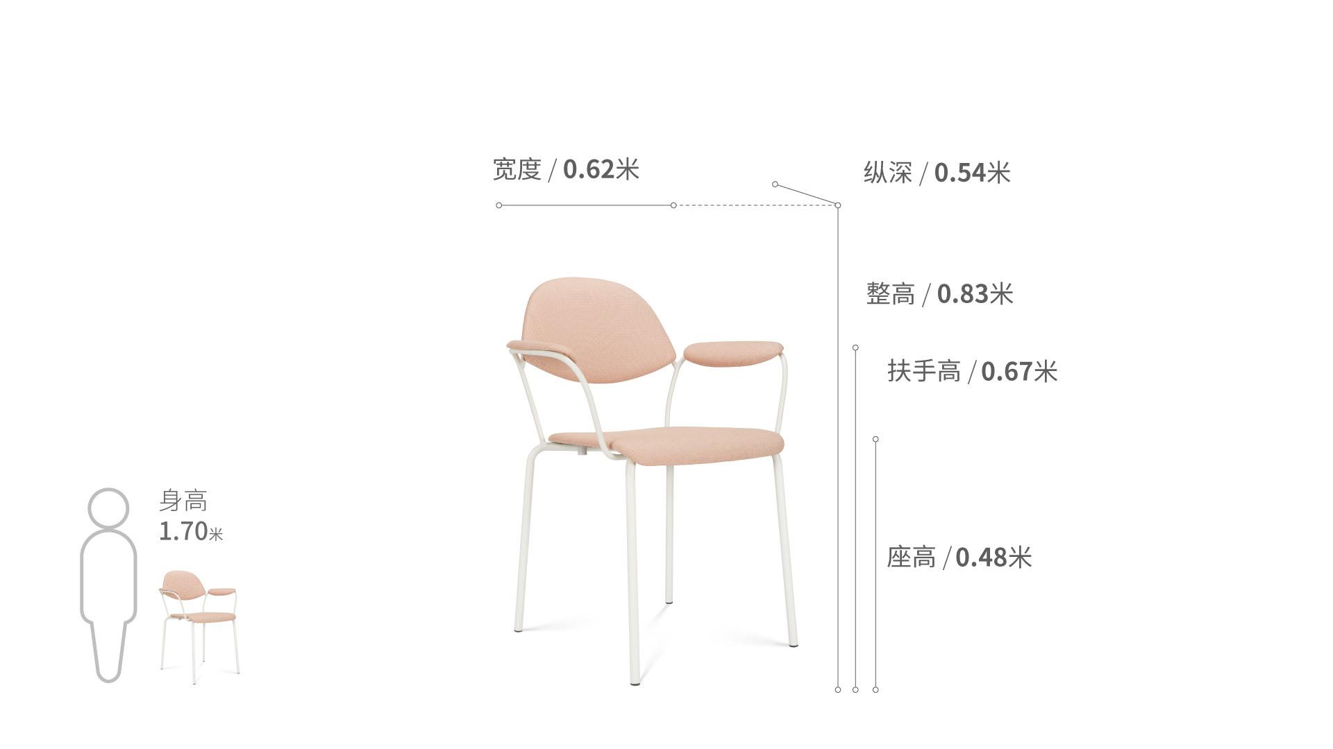 百合软椅椅凳效果图