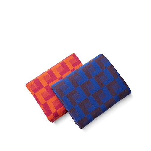 霓虹羊毛毯