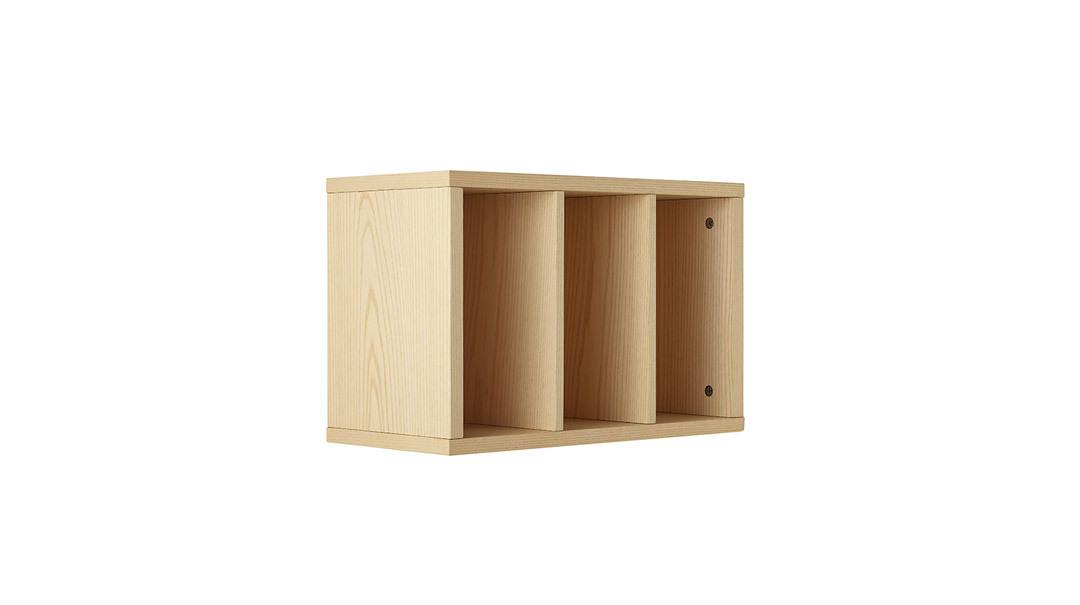 青山储物格带门格柜架
