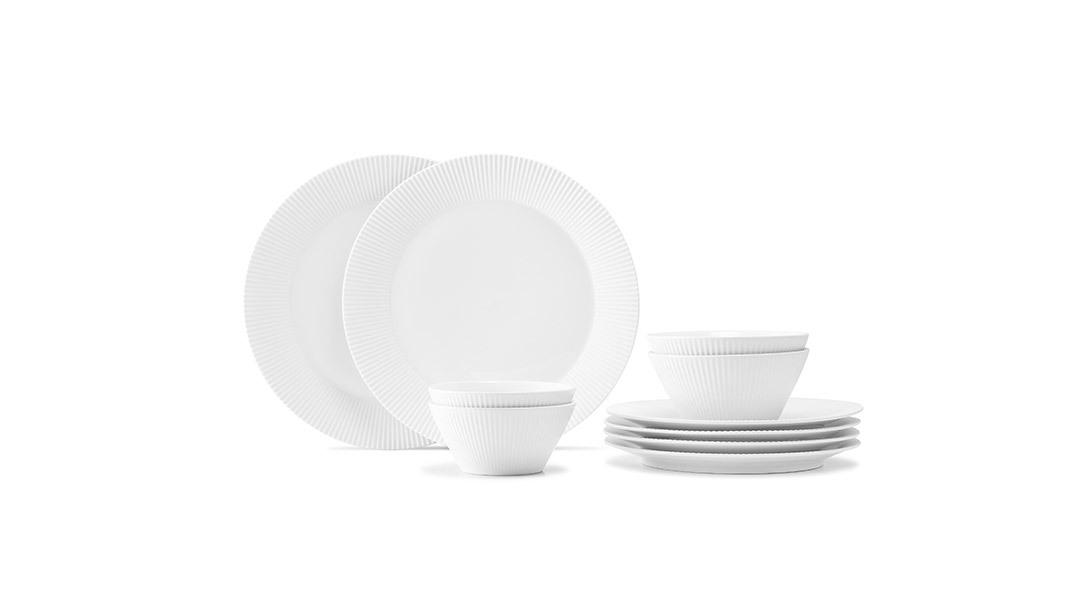 莹贝餐具10件组餐具