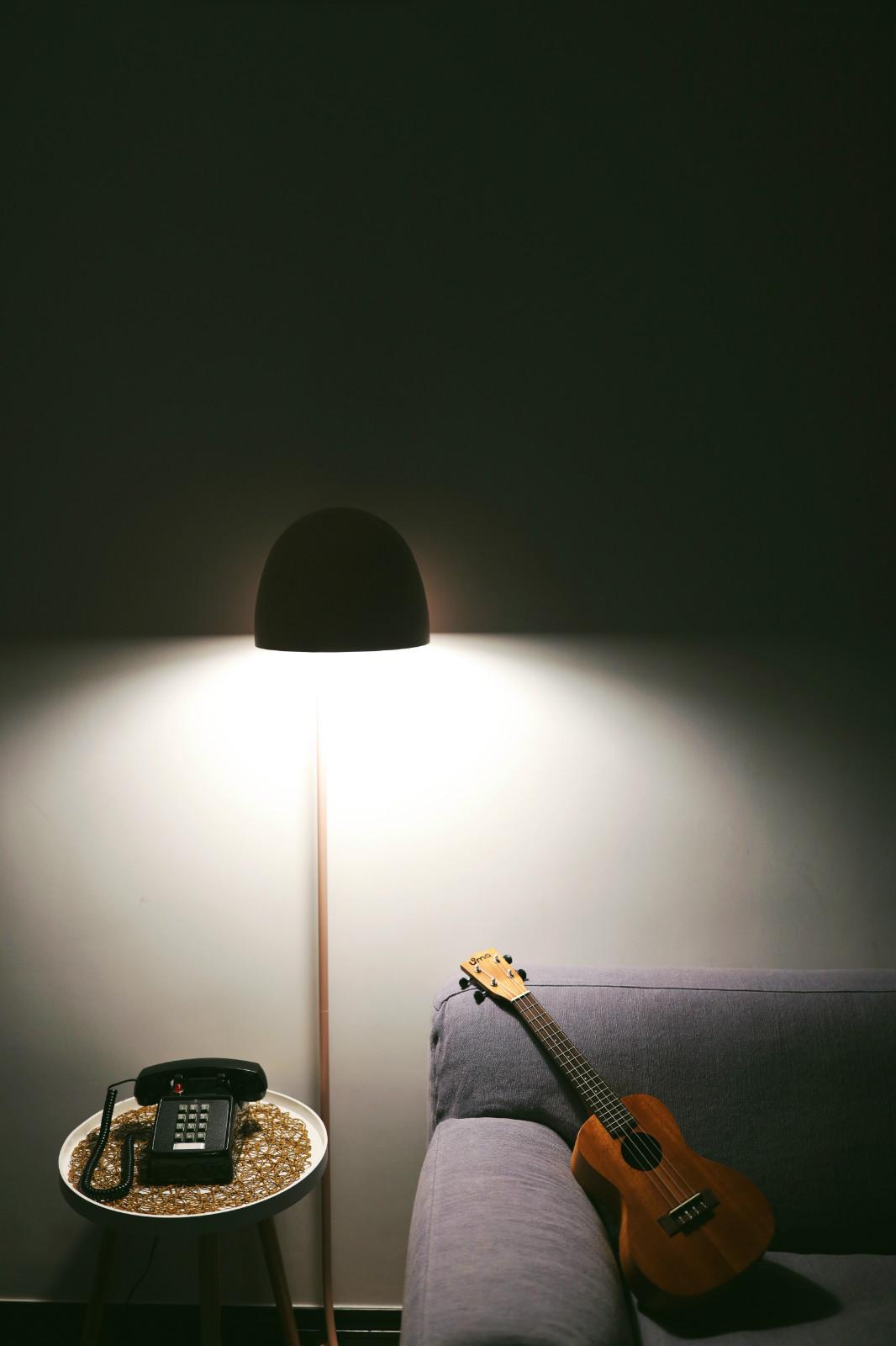 ▲水母地灯