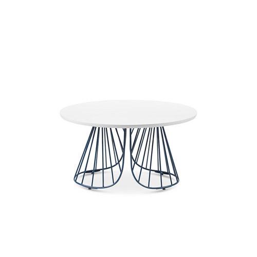 造作蝴蝶边桌™单层桌几效果图