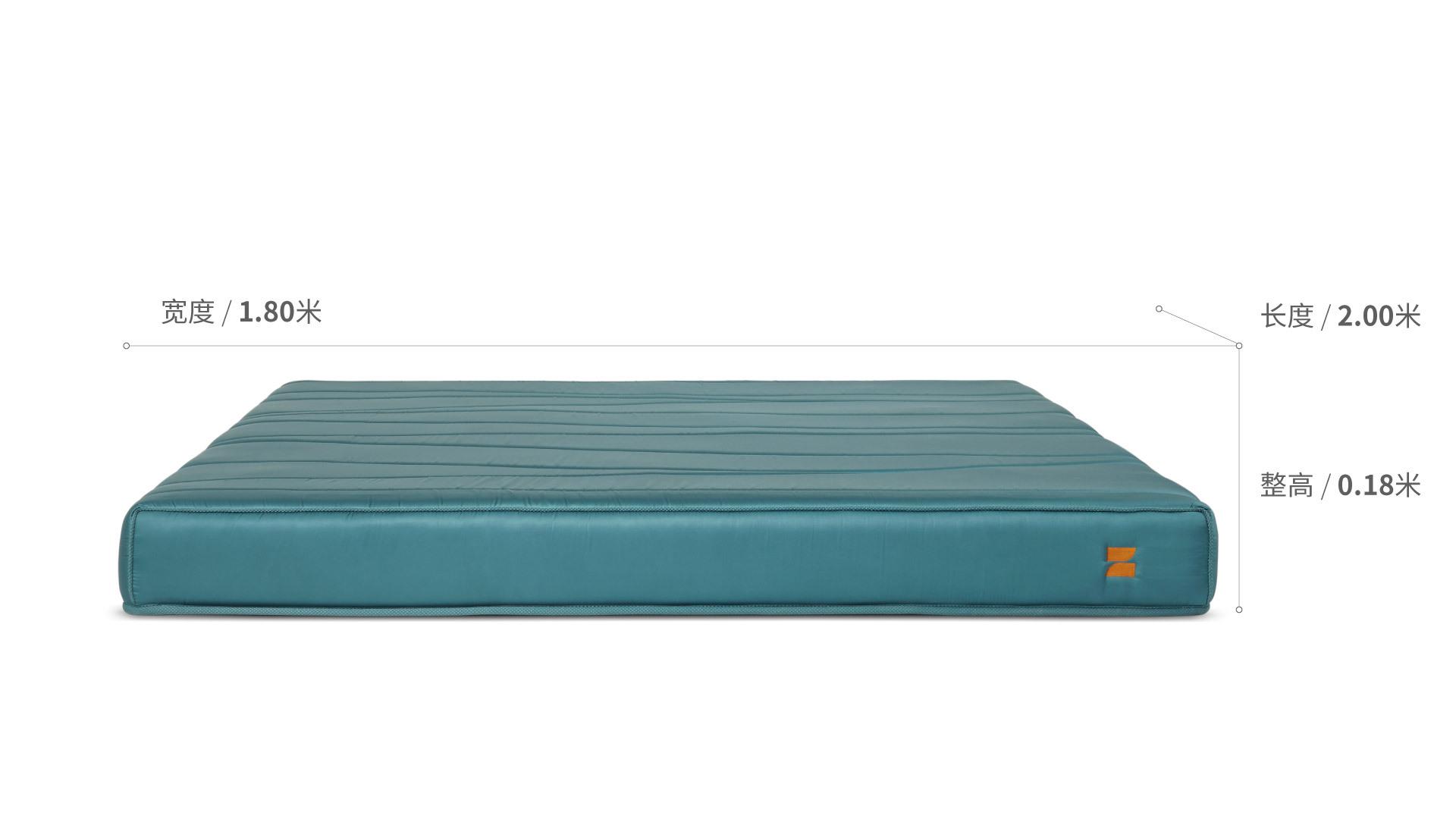 造作豌豆公主真丝床垫™1.8米款床·床具效果图