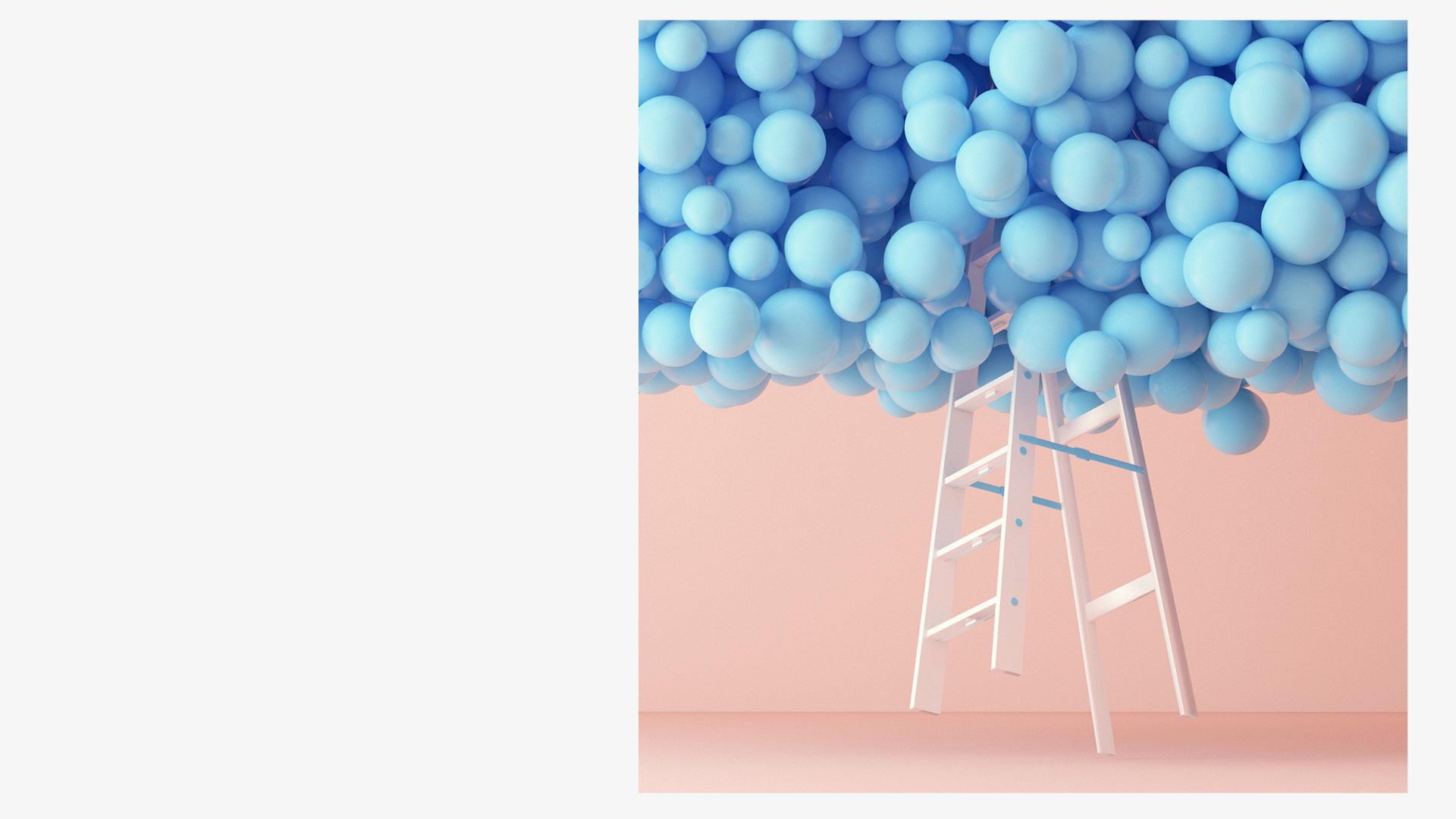 《水晶粉与静谧蓝1》<br/>唯一尺寸限量50版