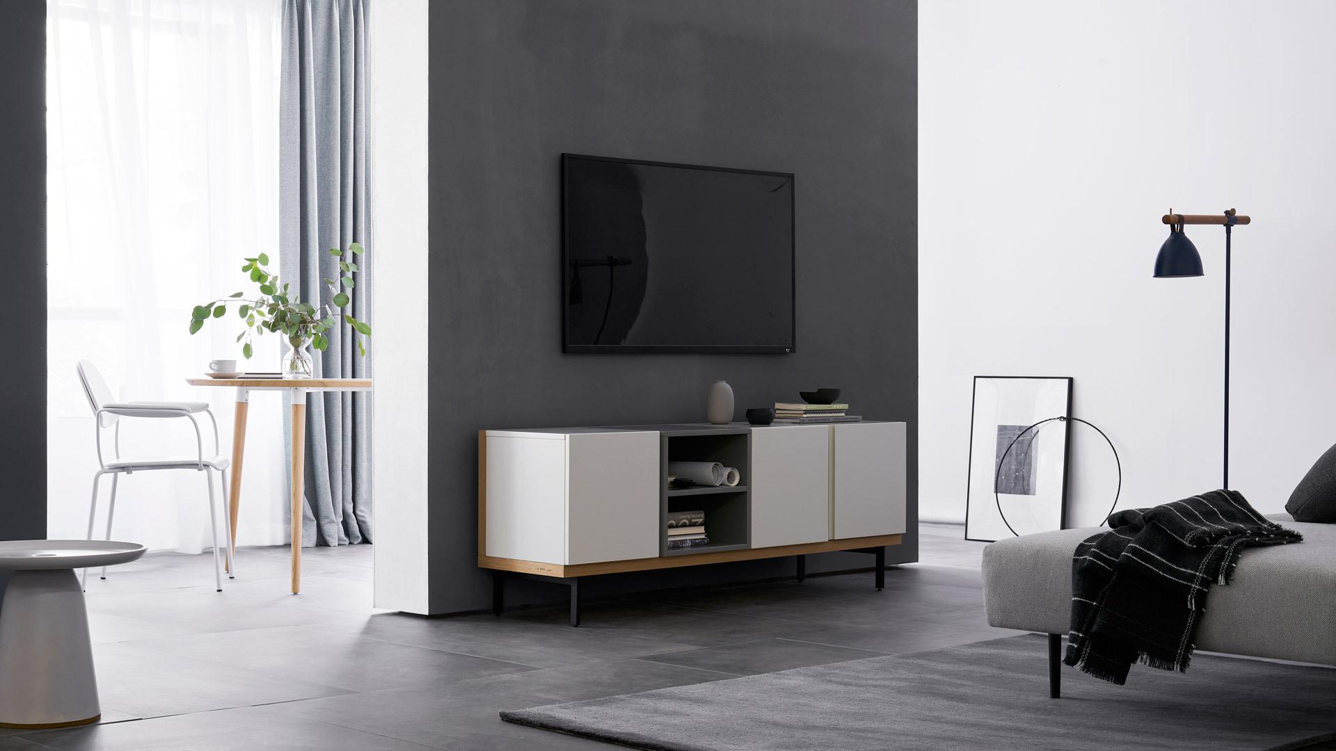 标准电视柜,适配更多家庭客厅