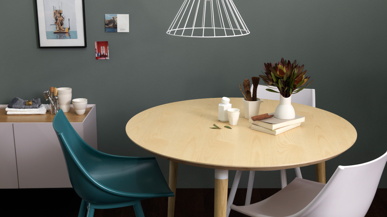 画板餐桌圆桌,围拢小家美满心意