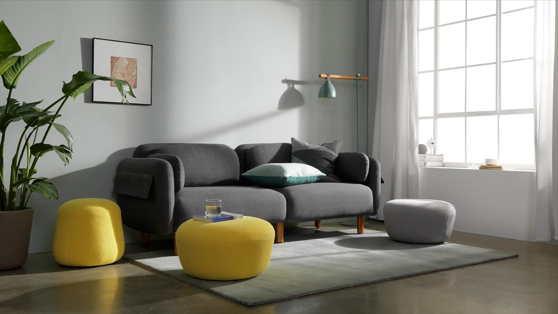 随意挪放,自由扩充沙发会客区