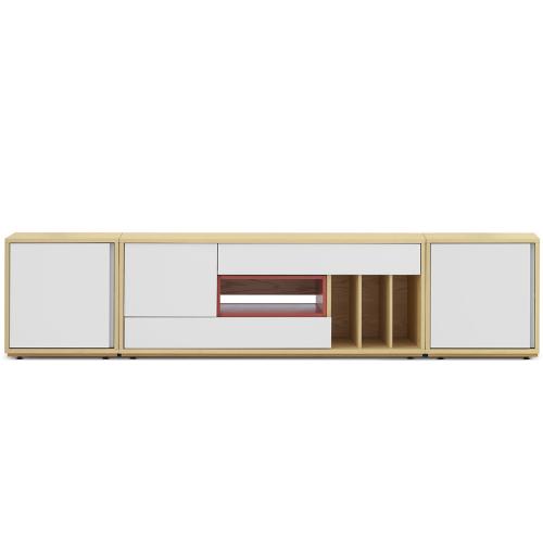 青山电视柜2.35米宽加长版