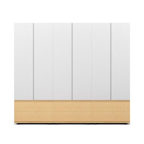 COSMO星格™衣柜·斗柜2.1米高6门衣柜COSMO效果图