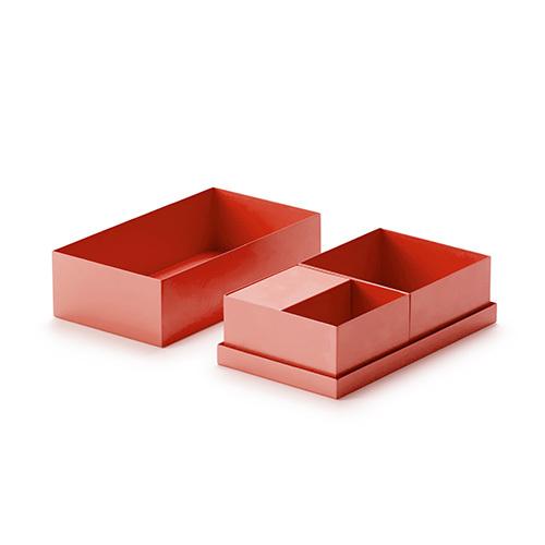 积木桌面收纳5件套升级版装饰
