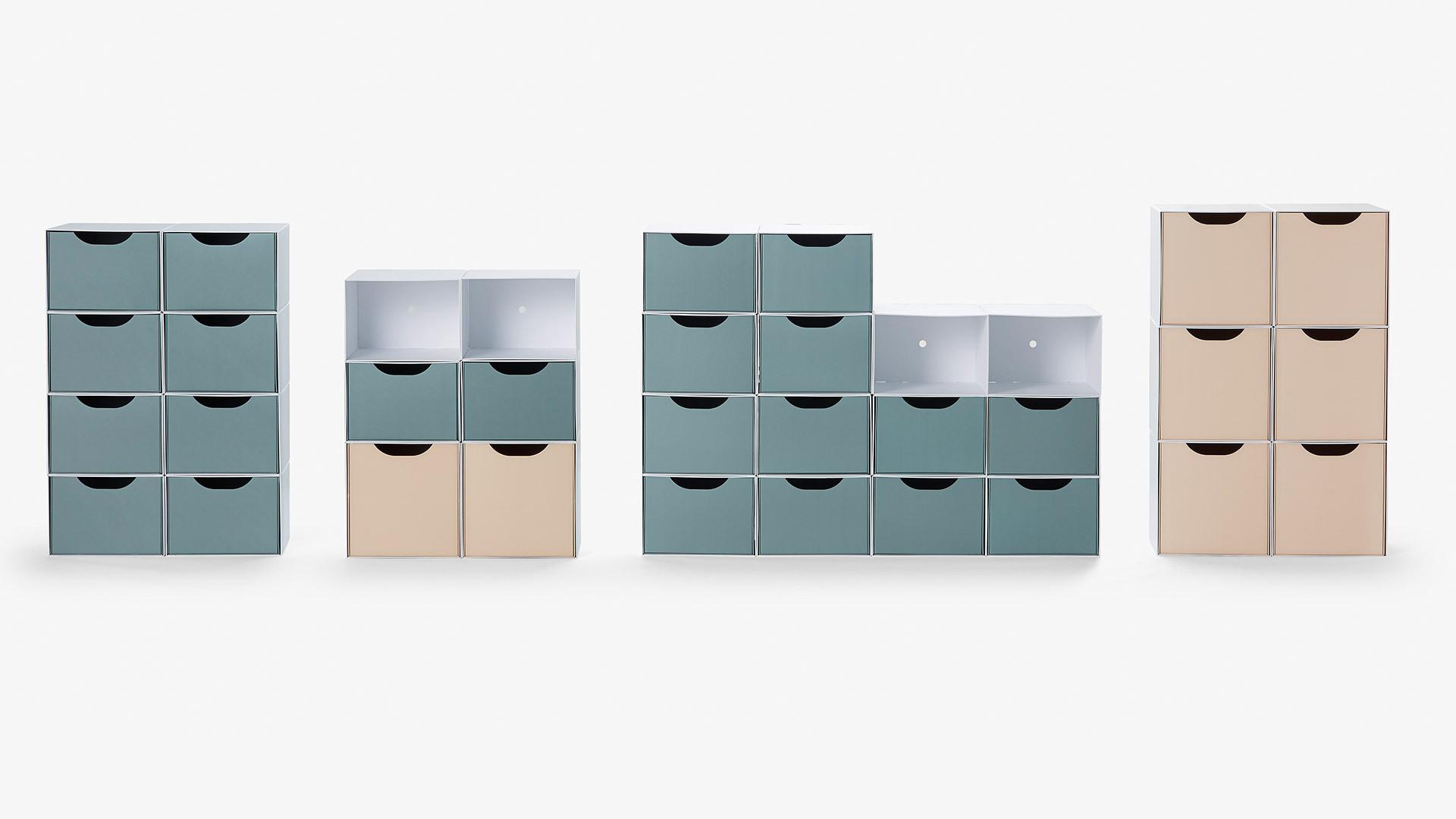 百种柜架适配更多空间