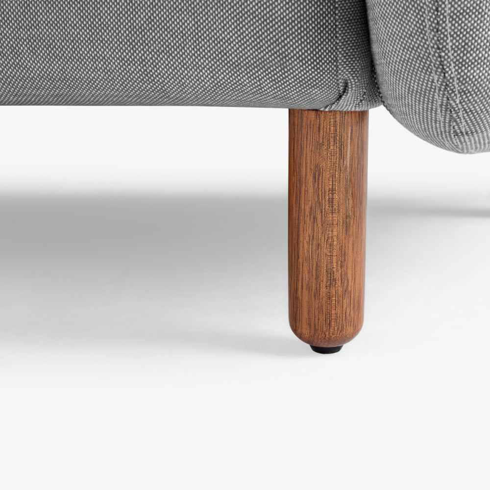 A级白橡木沙发腿<br/>可爱的手指饼干造型