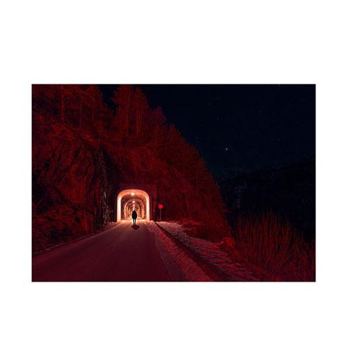旅行家限量画芯 | Øystein Sture Aspelund作品4号-冬眠6(装裱后)装饰效果图