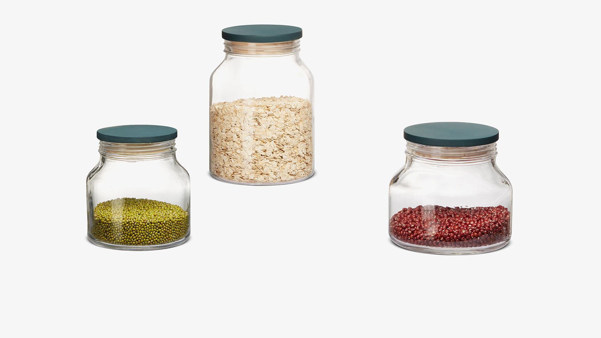 透明罐身设计,食材一目了然