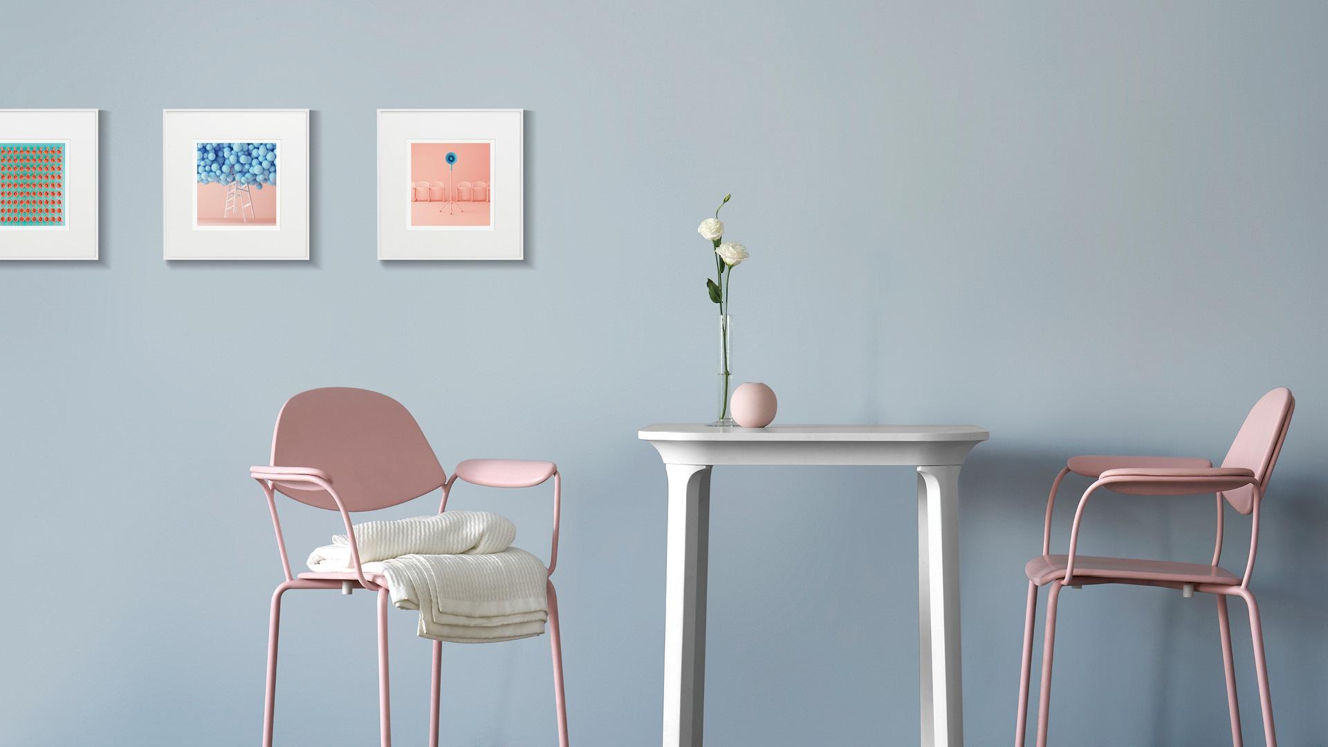用柔粉色涂抹私人空间,让时间慢下来