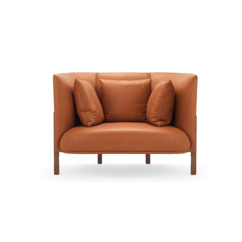 COFA L全幅版单人座沙发效果图