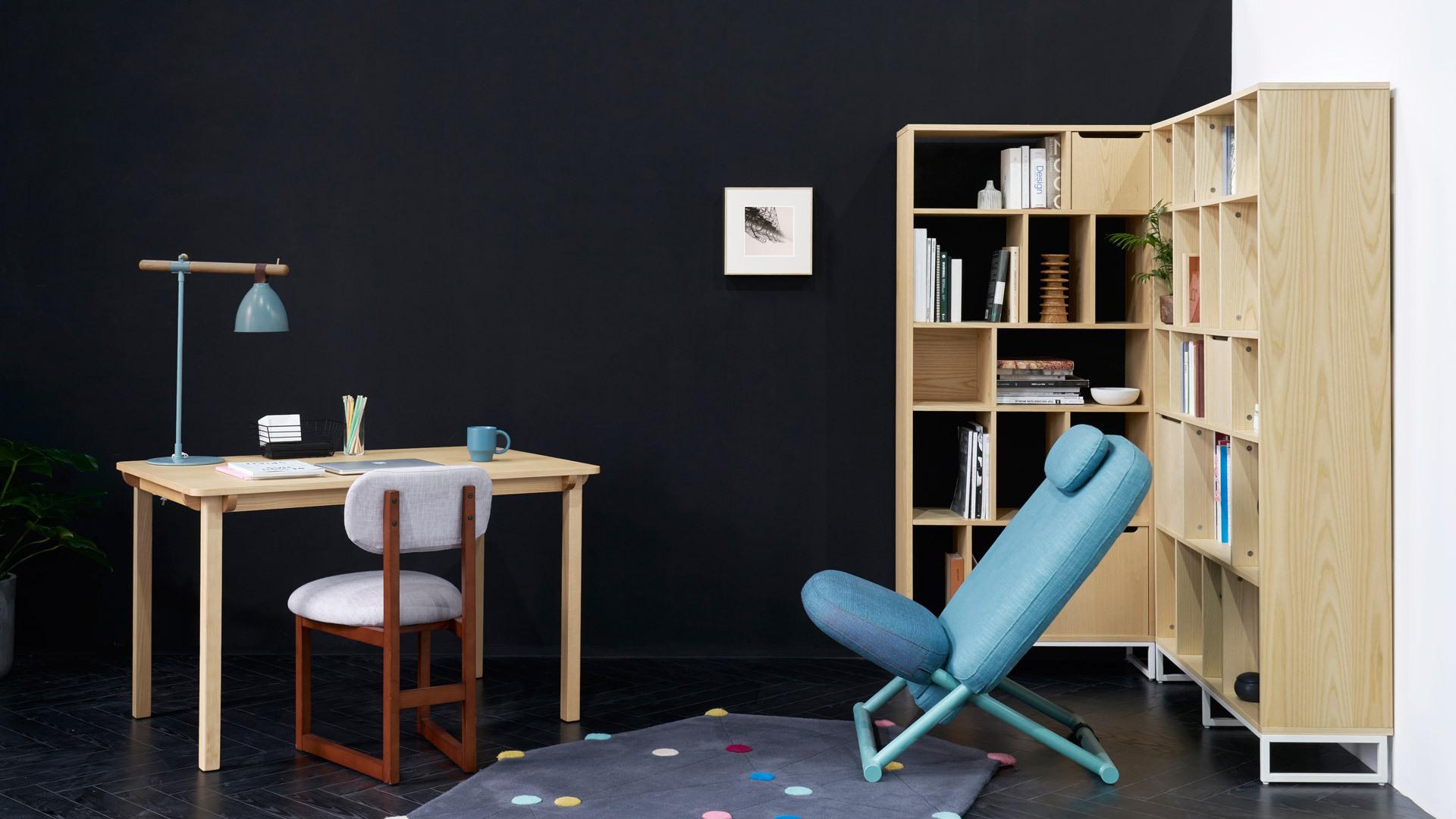 在书房,给阅读舒适加分