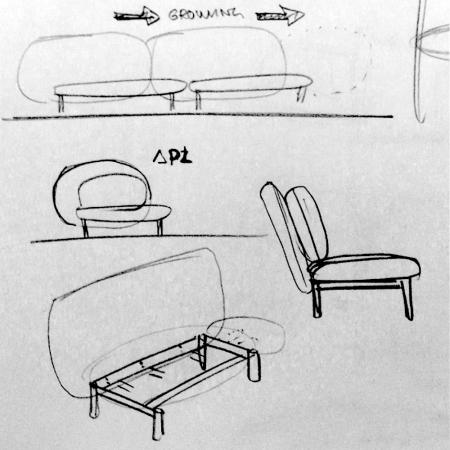 从一个浑圆的单元体出发,可以延续和生长出一系列的产品尺度,并且全部复用同样的结构和设计语言。