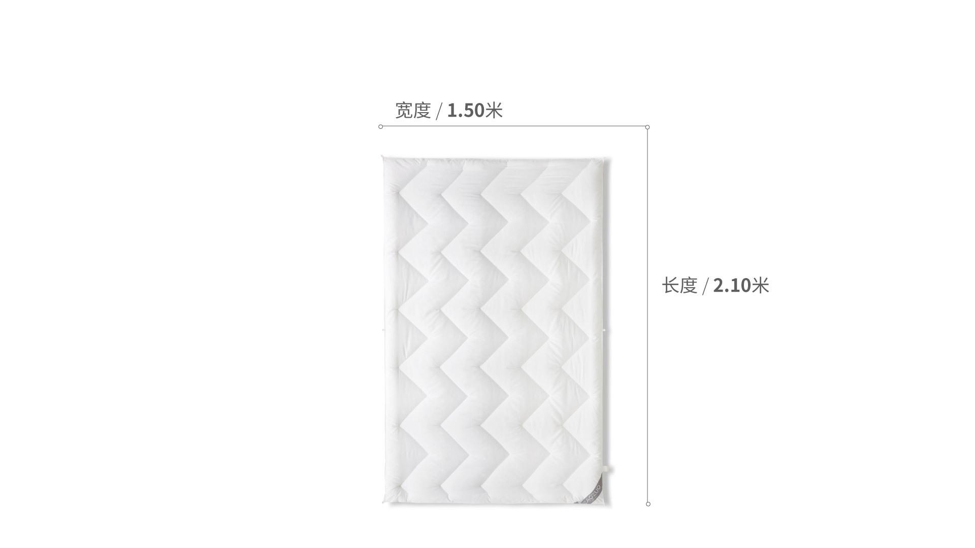 造作有眠32度热纤维被芯®1.2米床床·床具效果图