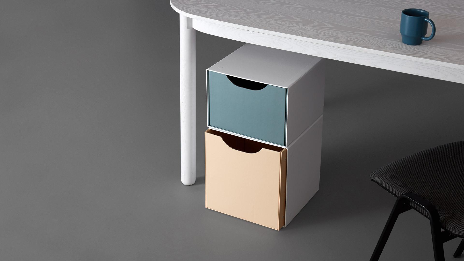 高效利用桌下空间,手边置物更便利
