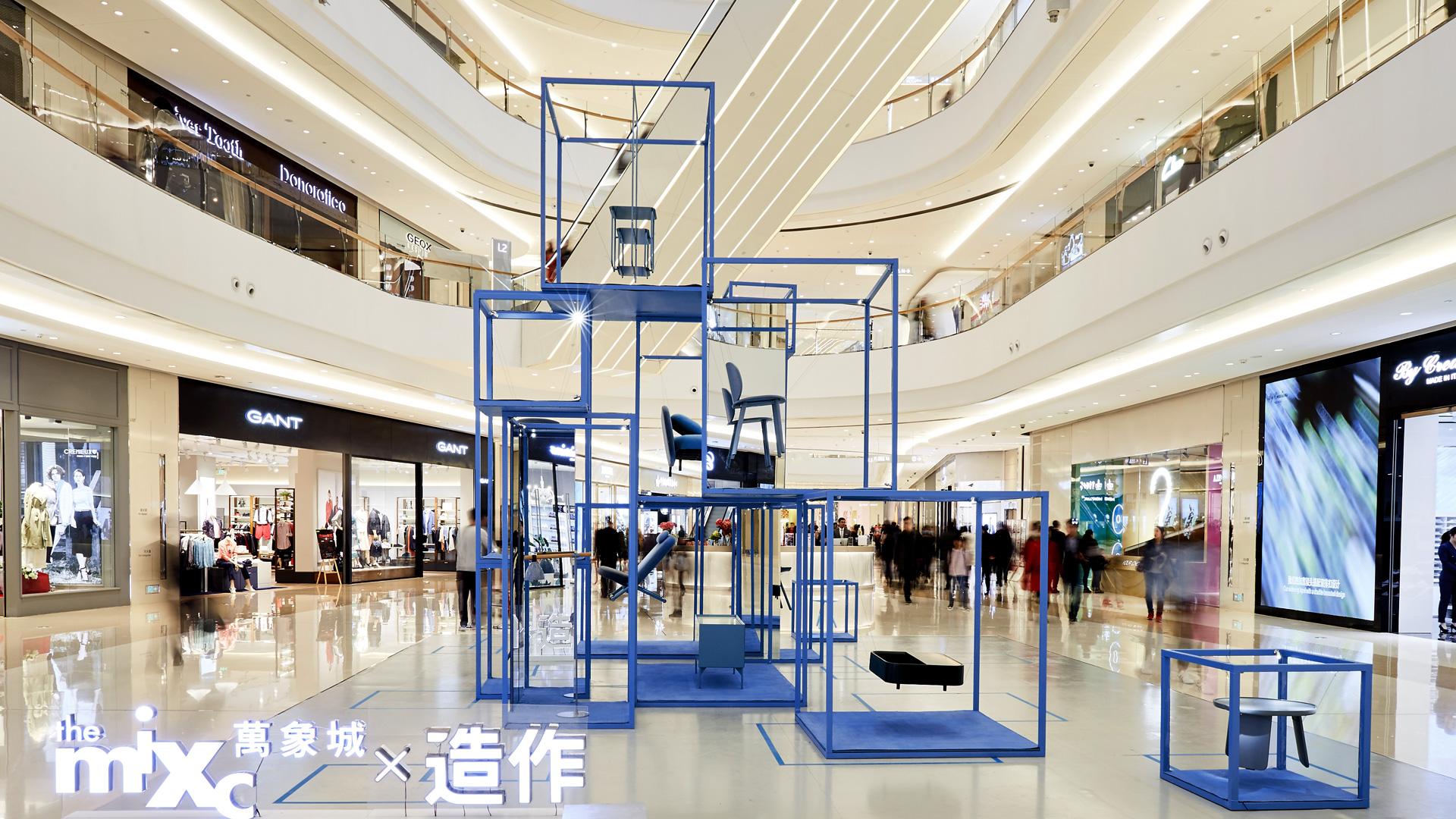 """西上海颜值最高购物中心之""""漂浮的世界客厅"""""""