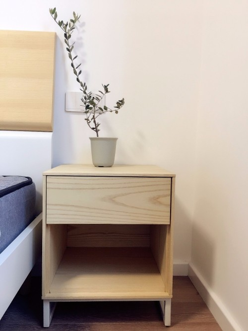 IF对画板床头柜发布的晒单效果图及评价