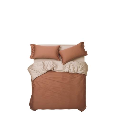 造作锦瑟撞色高支4件套床品™-1.8米