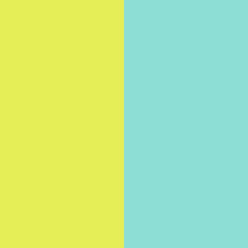柳黄-水蓝